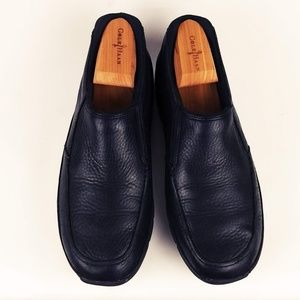 Rockport XCS Black Leather Slip on Loafers Size 9M